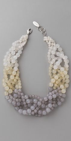.three strings small beads, three strings large ones, BRAID
