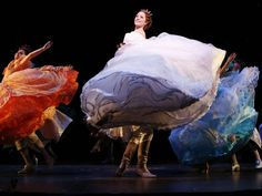 """These are costumes from Rodgers and Hammerstein's """"Cinderella,"""" now on Broadway."""
