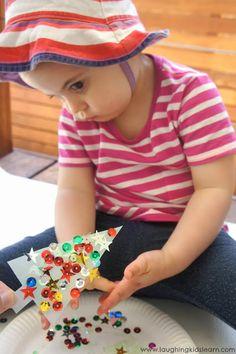 Laughing Kids Learn: Milk Carton Christmas Ornaments