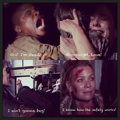 The walking dead: last words. The deaths that made me cry but the one that made me the most upset was hershels