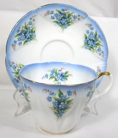Royal Albert Blue & White Floral