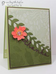 Botanical Gardens Designer Vellum Stack, Botanical Blooms, Botanical builder Framelits, greetings Thinlits