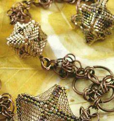 Geometric beaded bead schema.  (Translate)  ~ Seed Bead Tutorials