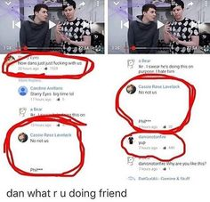 Okay, guys c'mon, I think both Dan and Phil have made it very clear that they are completely P-L-A-T-O-N-I-C. Say it with me now, pla-ton-ic.