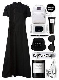 """Black"" by michelledhrm ❤ liked on Polyvore"