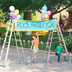 Organize a Block Party
