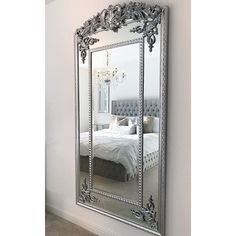 Floor mirrors – William Wood Mirrors Ornate Mirror, Wood Mirror, Beveled Mirror, Full Length Floor Mirror, Study Office, Traditional Decor, Oversized Mirror, Floor Mirrors, Flooring