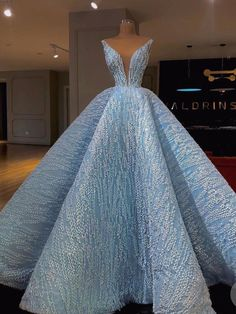 2018 Chic A-line Straps Long Prom Dresses Modest Blue Prom Dress Ball Gowns Even. - 2018 Chic A-line Straps Long Prom Dresses Modest Blue Prom Dress Ball Gowns Evening Dresses Source by lmariejger - Ball Gown Dresses, Prom Dresses Blue, Modest Dresses, Elegant Dresses, Pretty Dresses, Beautiful Dresses, Formal Dresses, Long Gown Elegant, Wedding Dresses