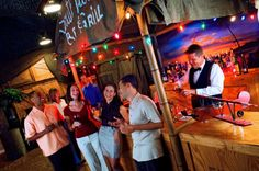 Maximize your budget with Fantasy of Flight's themed 1940's South Pacific Officers' Club.  Complete with built-in tiki bar and bomber nose this venue is a party planner's dream!