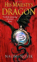 His Majesty's Dragon by Naomi Novik - the story of Temeraire... I've read the first 3 in the series... Great stories!