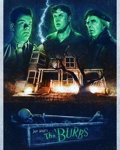 The Burbs 1989 Digital Art Tom Hanks Movies Comedy Mystery Thriller 80s Movies, Cult Movies, Great Movies, Horror Movies, Awesome Movies, Movie Tv, King Kong, The Burbs Movie, Os Goonies