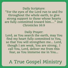 Evening Scripture