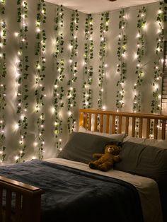 Cute Bedroom Decor, Room Design Bedroom, Room Ideas Bedroom, Chill Room, Cozy Room, Dream Rooms, Dream Bedroom, Dream Teen Bedrooms, Neon Room