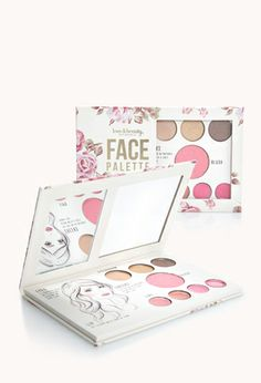 Rose Face Palette | FOREVER21 - 1000110774