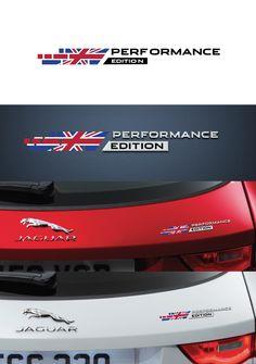 Sticker for Jaguar Performance edition
