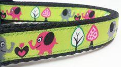Big Hearts - Dog Collar / Handmade / Pet Accessories / Adjustable on Etsy, $17.50