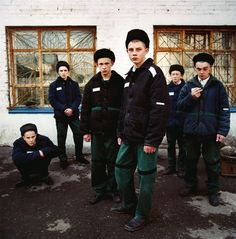 Young Prisoners, Juvenile Prison for Boys, Russia 2009 by Michal Chelbin