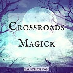 Crossroads Magick & Witchcraft. The Crossroads are physically where two roads intersect at a junction – they can be a three-way crossroad or four-way crossroad. In ancient Greece, it was believed that Hermes ruled the four-way crossr…