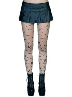 Want tights, skirt, and boots