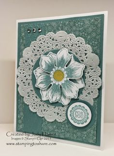 Stamping to Share: Stamping to Share Swap Cards - Flowers and Butterflies - Part Three