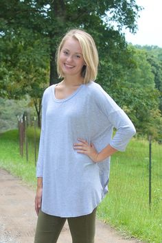 Cute and Casual Top at shopjulianas.com!