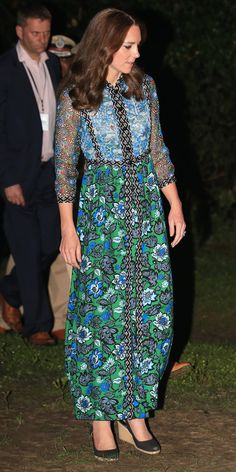 Kate Middleton Looks More Radiant Than Ever During Latest Outing in India from InStyle.com