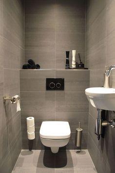Space-saving toilet design for small bathrooms - Home to Z. space-saving toilet design for small bathroom secrets 14 - homedecorsdesig space-saving toilet design for small bathroom secrets 14 - homedecorsdesignPocket Door System KitsMaster Space Saving Toilet, Small Toilet Room, Guest Toilet, Downstairs Toilet, Space Saving Bathroom, Downstairs Cloakroom, Bathroom Design Small, Bathroom Interior Design, Modern Bathroom