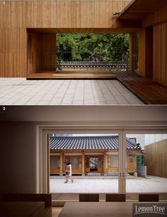 통의동 아름지기 신사옥에 가다, 전통이 공존하는 日常의 집.전통의 현대화를 위해 노력해온 아름지기가 통의동의 경복궁 돌담길로 사옥을 이전했다. 생활 속에서 누릴 수 있는 전통의 미감을 소개해온 곳답게 '아름지기'식 라이프스타일을 담은 공간이라고 한다. 전통과 현대가 공존하는 공간에서는 또 얼마나 .. Terrace Design, Grand Designs, Reception Rooms, Sustainable Design, Modern Architecture, My House, Interior Design, Outdoor Decor, Home Decor