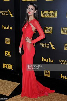 Actress Victoria Justice attends Fox And FX's 2016 Golden Globe Awards Party on January 10, 2016 in Beverly Hills, California.
