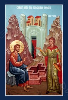 Icons of Jesus Christ and the Theotokos, His Mother (Fr. Luke (Rolland) Dingman is the artist) ... a wonderful artist.