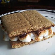Graham Crackers Allrecipes.com Just made these-- soooo cute! Easy too. And delish.