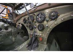 Aircraft inspired hotrod interior pic 1