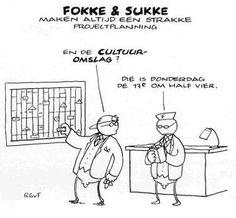Cultuuromslag... Cartoon Online, Coach Quotes, Human Resources, Project Management, Teamwork, I Laughed, Cartoons, Humor, Comics