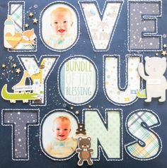 John shared 1 photo with you Baby Blessing, Baby Bundles, Baby Scrapbook, Cutting Files, Card Stock, Blessed, Love You, Joy, Stitch