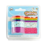 The perfect accompaniment to our magical unicorn tape dispenser! Make sure you never run out of sparkle with the tape dispenser refill, containing three rolls of magical tape in rainbow, unicorn and glitter designs. Design3000, Unicorn Fashion, Unicorn Rooms, Unicorn And Glitter, Pink Glitter, Tapas, Unicorn Crafts, Bullet Journal Themes, Paperchase