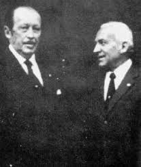 Hans Ulrich Rudel mit Präsident Strössner