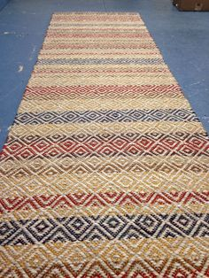 This little honey sold. So should we make another? True Norht Textiles Handwoven runner.