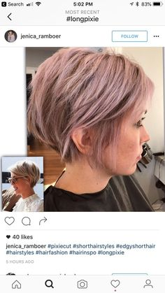 Hair This color! Why Fuss Over Wedding Centrepieces - Simple Ideas Dreaming of having the perfect we Mom Hairstyles, Short Bob Hairstyles, Pretty Hairstyles, Hairstyles 2018, Short Hair Cuts, Short Hair Styles, Pelo Pixie, Great Hair, Hair Today