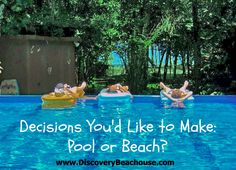Click here for 360 degree tours of this villa, pool and beach http://www.discoverybeachouse.com/360-tours.