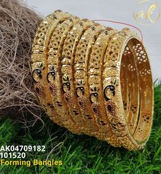 Temple Jewellery Available at for booking msg on Jewelry Sets, Gold Jewelry, Jewelery, Gold Money, Temple Jewellery, Bari, Gold Bangles, Indian Jewelry, Serenity