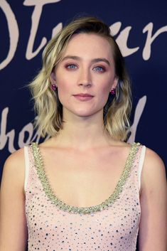 BERLIN, GERMANY - JANUARY 09: Irish actress Saoirse Ronan attends the 'Maria Stuart, Koenigin von Schottland (Original title: Mary Queen of Scots) photo call at Kino International movie theater on January 9, 2019 in Berlin, Germany. (Photo by Tristar Media/Getty Images)
