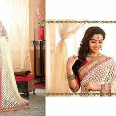 Designer Fashionable Half Half Sarees