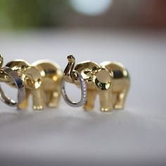 aww, too cute, elephant with wedding rings -  Tina & Richard's Radiant Hindu Wedding - Gallery