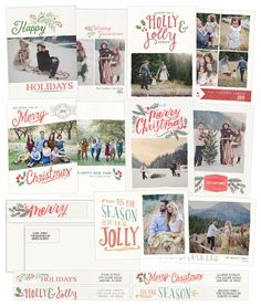 Handwritten HOLIDAY BUNDLE | Holiday Cards