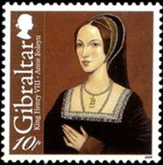 Anne Boleyn stamp