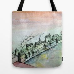 dreamscape Tote Bag by Marianna Tankelevich - $22.00