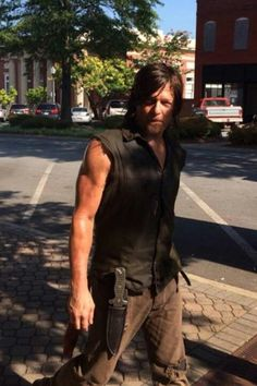 what is Daryl Dixon doing in Atlanta?