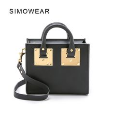 49.50$  Buy now - http://alij0s.shopchina.info/1/go.php?t=32744066566 - 2016 Hot Sale Popular Fashion Brand Design Women Genuine Leather Small Bag Lady Handbag Real Cowskin Shoulder Bag Mini Box  #magazineonline
