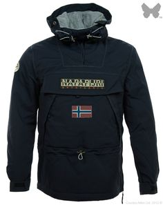 Napapijri Men's Skidoo 12 Jacket – Blue N0Y52A176   Country Attire