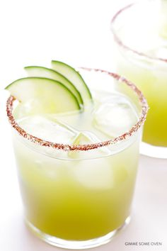 Spicy Cucumber Margarita | Community Post: 14 Fresh Cucumber Cocktails Guaranteed To Put A Spring In Your Step